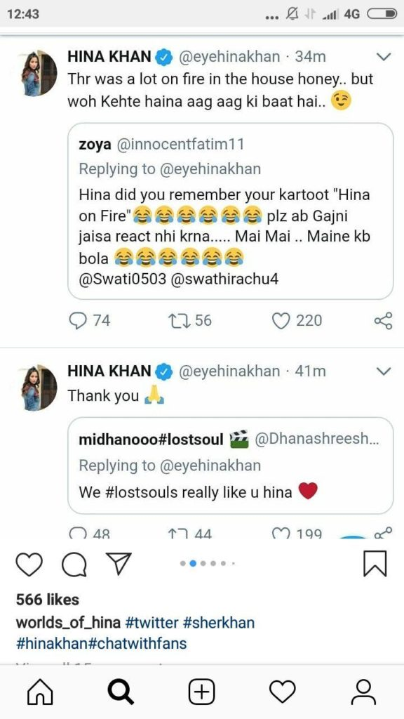 Niha Khan on Instagram Engagement