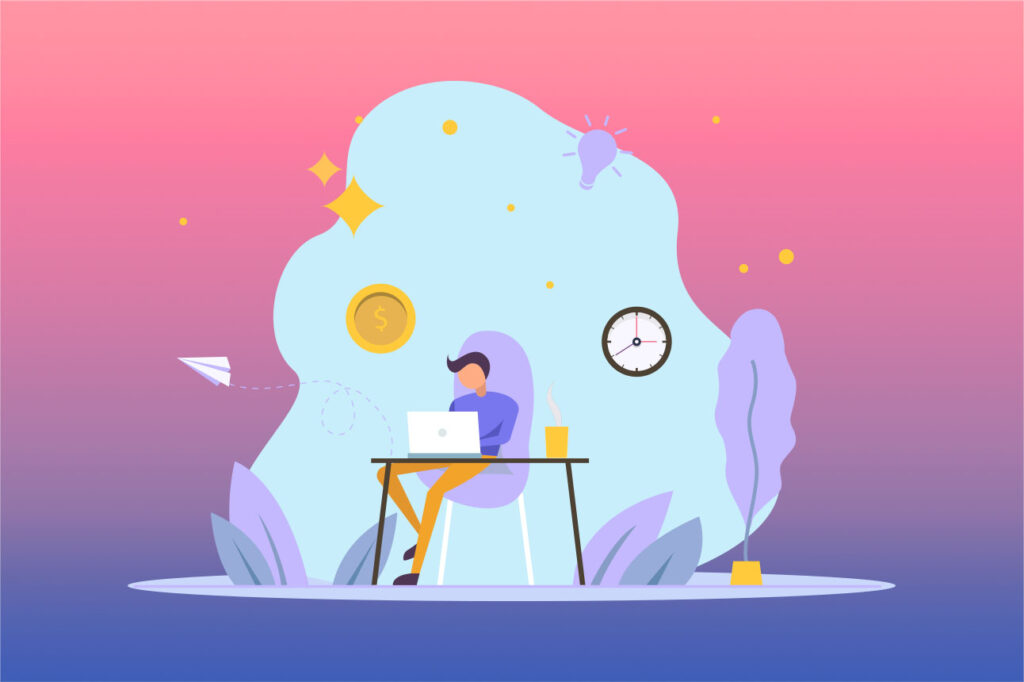 Complete various projects as a freelancer