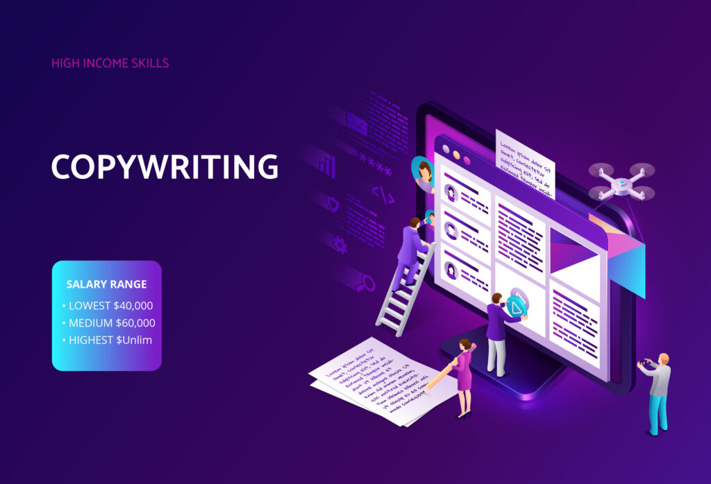 copywriting is among the high income skills